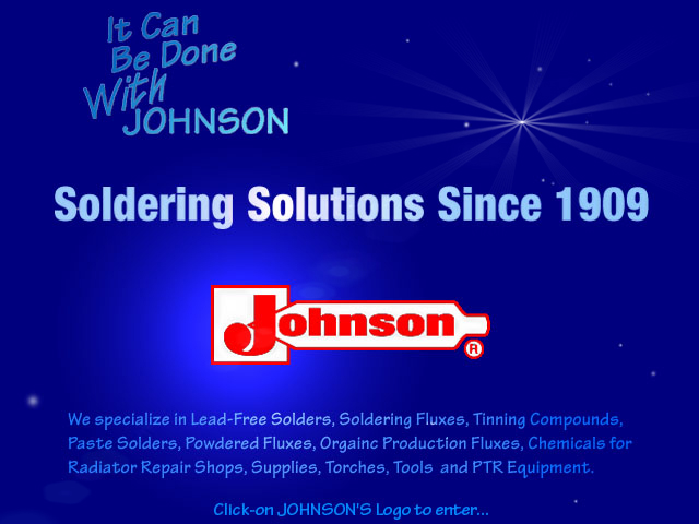 JOHNSON MFG. CO. Welcomes You!